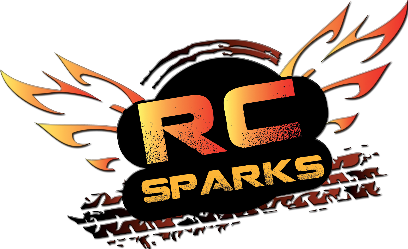 Final RCSparks Logo WO Site EMBOSSED